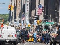 Zicht op 6th Avenue