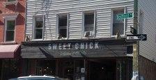 Sweet Chick in Willamsburg, een 'verhipsterde' wijk in Brooklyn. Maar dan wel 'American cuisine with a Southern accent'. Topper!