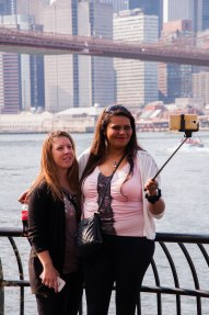 Selfie @ The Brooklyn Bridge