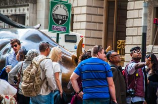 Selfie @ the Bull of Wall Street