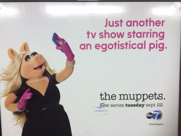 Selfie of Miss Piggy